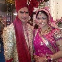 Ashish aka Saahil and Rishika aka Shivani getting married
