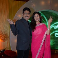 Shri. Shailesh Lodha and Neha Mehta at SAB TV's new show luanch Waah! Waah!! Kya Baat Hai!!!