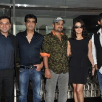 Prem Raj, Kishan Kumar, Sajid Ali, Preity Zinta and Wajid Ali at Music Launch Film Ishkq in Paris | Ishkq In Paris  Event Photo Gallery