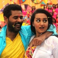 Prabhu Deva and Sonakshi Sinha in OMG! Oh My God