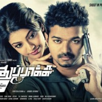 Vijay and Kaajal Aggarwal in Thuppaki