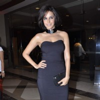 Neha Dhupia during the music launch of upcoming film Rush | Rush Event Photo Gallery
