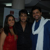 Munisha Khatwani, Akshay Sethi & Gautam Chaturvedi at Musical Concert by Gautam Chaturvedi