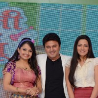 Ali Asgar with Giaa Manek and Navina Bole in SAB TV's new show launch Jeannie Aur Juju