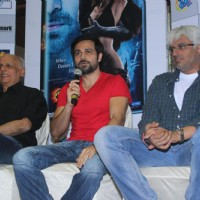 Mahesh Bhatt, Emraan Hashmi and Vikram Bhatt at Film Raaz 3 DVD Launch | Raaz 3 Event Photo Gallery