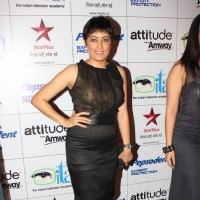 Meghna Malik at ITA Awards 2012