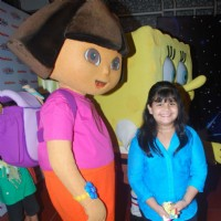 Saloni Daini at the Premiere of film Keymon Ache and Nani in Space Adventure at Cinemax