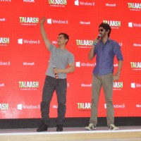 Aamir Khan and Gaurav Kapoor promotes film Talaash with Microsoft Windows 8 | Talaash Event Photo Gallery