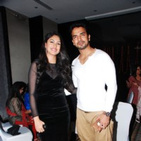 Mohit Sehgal with Gauri Bhosale at the launch of Production house Thoughtrain Entertainment