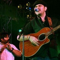 Mohit Chauhan Live at the Qutub Festival,in New Delhi