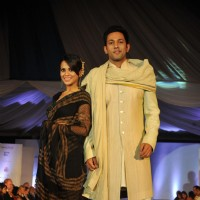 Sana Saeed and Sahil Anand Walks For 'Global Peace Initiative'