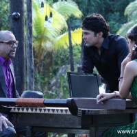 A still of Paresh Rawal, Tena Desae with Rajeev Khandelwal from the movie Table No. 21 | Table No. 21 Photo Gallery