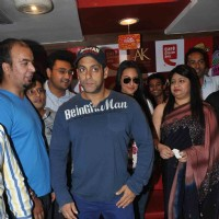 Salman Khan and Sonakshi Sinha at film DABANGG 2 promotions at Cafe Coffee Day | Dabangg 2 Event Photo Gallery