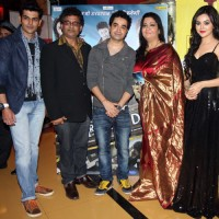 Rohit, Milind, Yatin, Anita and Ragini at music launch of film Dehraadun Diary in Cinemax, Andheri West Mumbai.