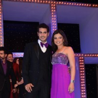 Deepshikha and Kaishav Arora at Nach Baliye 5