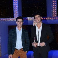 Gautam Rode and Karan Wahi as the host of the show Nach Baliye 5