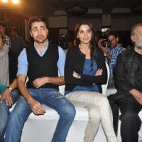 Vishal, Imran Khan, Anushka Sharma & Pankaj Kapoor at Press Meet Film Matru ki Bijlee ka Mandola