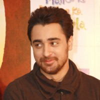 "Imran Khan at a press conference for the film ""Matru Ki Bijlee Ka Mandola"""