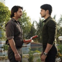 Gurmeet and Vineet in a scene from Punar Vivah