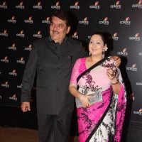 Raza Murad with wife at the 4th anniversary party of COLORS Channel