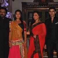 Sanjay Leela Bhansali, Jennifer Winget, Rani Mukherjee and Gautam Rode at launch of Saraswatichandra