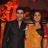 Gautam Rode and Jennifer Winget in Saraswatichandra on Star Plus