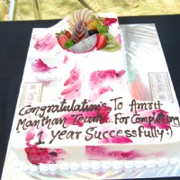 Amrit Manthan celebrates their completion of 1 year