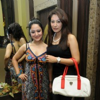 Anjali and Madhuri Pandey at Cresecndo Music launches Zubair Ahmed's album Shehar Se Door