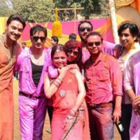 Drashti Dhami with Madhubala Team