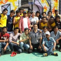 Bharat with Dil Dosti Dance Team