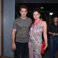 Deepshikha Nagpal with Kaishav Arora at Mahhi Vij's Birthday Celebration