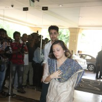 Imran Khan with wife Avantika attend condolence meet of Priyanka Chopra's father Ashok Chopra
