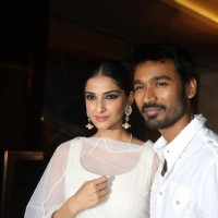 Sonam Kapoor and Dhanush at Success party of film Raanjhanaa | Raanjhanaa Event Photo Gallery
