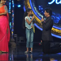 Shah Rukh Khan at Film Chennai Express Promotion at Indina Idol Junior Set