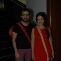 Mayank Anand with Shraddha Nigam at Gurudakshina event