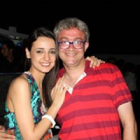 Sanaya Irani during MJHT's wrap up party