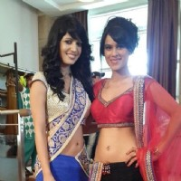 Nia Sharma and Charlie Chauhan