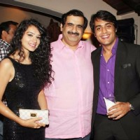 Sukirti Kandpal Manish Goswami and Gaurav S Bajaj at the Launch of Kaisa Ye Ishq Hai Ajab Sa Risk Hai