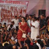 Yesteryear actress Asha Parekh too was at the Dahi Handi celebrations