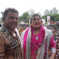 Dolly Bindra at the Dahi Handi celebrations