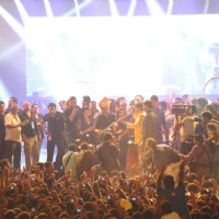 Shahrukh Khan at Dahi Handi celebrations