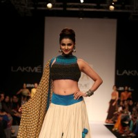 Prachi Desai at the LAKME FASHION WEEK 2013