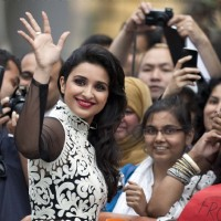 Parineeti at the screening of Shudh Desi Romance at the 38th Toronto International Film Festival | Shuddh Desi Romance Event Photo Gallery