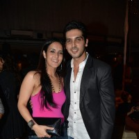 Tulip Joshi and Zayad Khan at her birthday bash