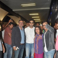 Happy New Year's Star Cast Back in Mumbai