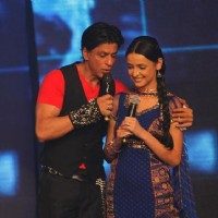Sanaya Irani and Shah Rukh Khan