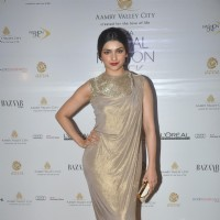 Prachi Desai seen at Aamby Valley India Bridal Fashion Week 2013