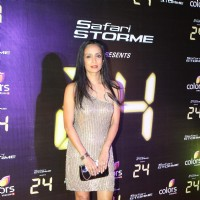Suchitra Pillai was seen at the Success party of TV show 24