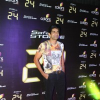 Rahul Singh poses at the Success party of TV show 24