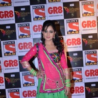 Shubhangi Atre Poorey at SAB Ke Satrangi Parivaar Awards
